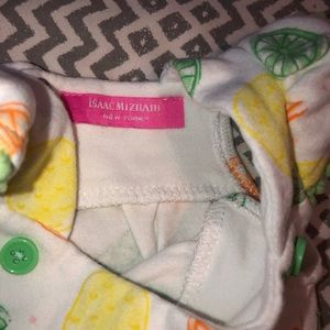 Isaac Mizrahi Matching Sets - Baby Girl Lime Green Two Piece